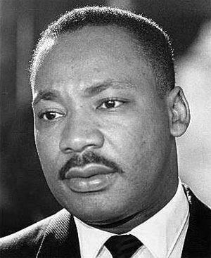 Martin Luther King on Martin Luther King Jr